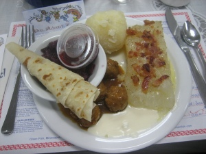 We make an annual holiday trek to the Sons of Norway Lodge for lutefisk.