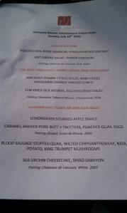 p17 menu